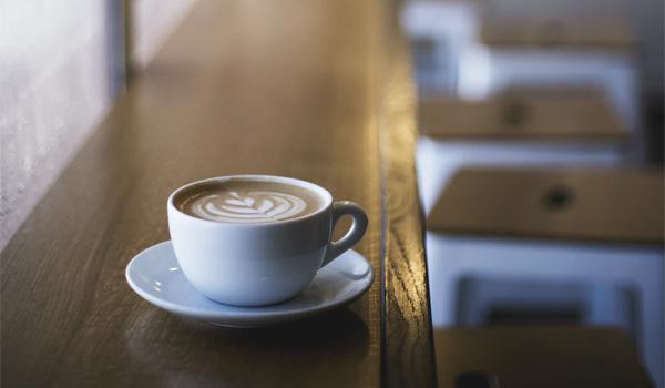 落ち着くカフェ